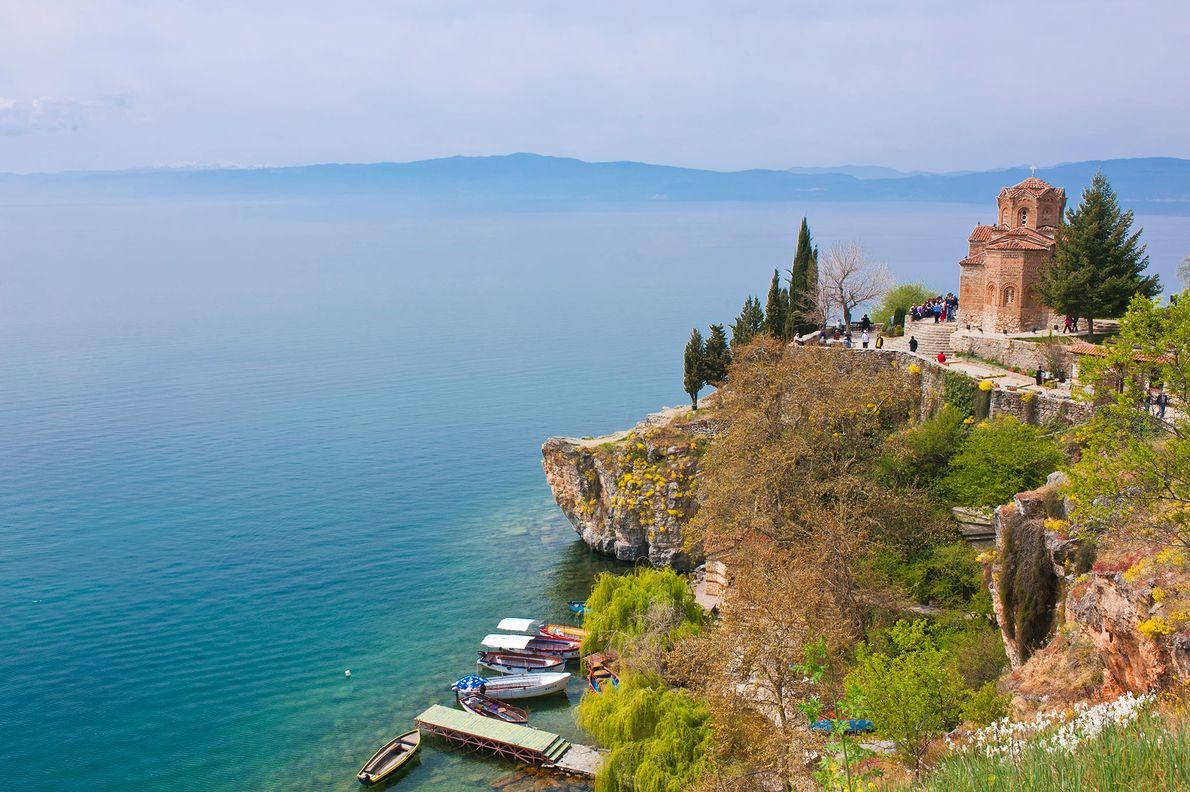 MAZEDONIEN Die Republik Mazedonien befindet sich im Prozess der Umbenennung in die Republik Nordmazedonien.
