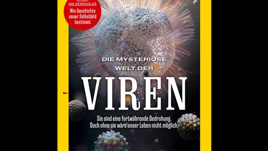 Das National Geographic Magazin im Februar