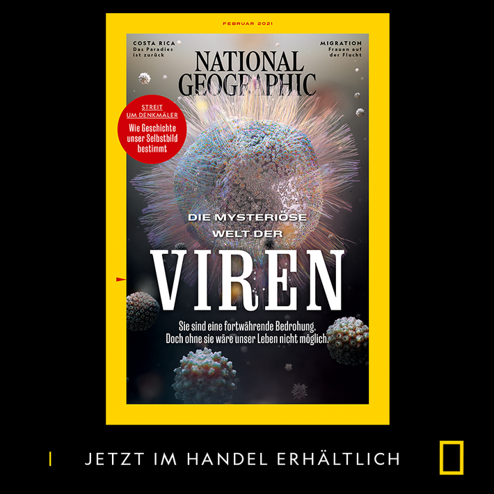 Das National Geographic Magazin im Februar