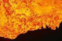 Vulkane erruption