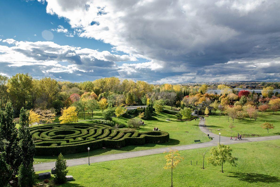 Stadtpark Le Domaine de Maizerets in Québec