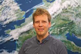Meteorologe Marcus Beyer