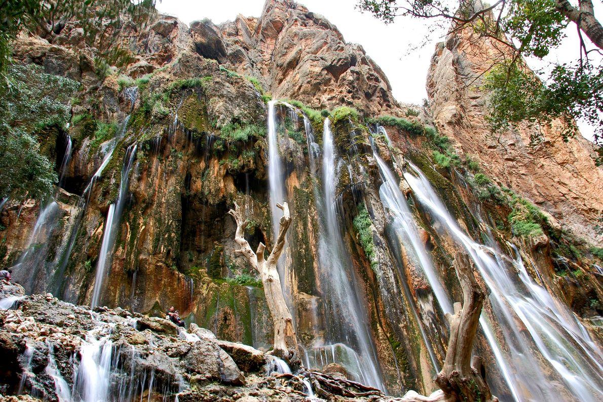 Der Margoon-Wasserfall