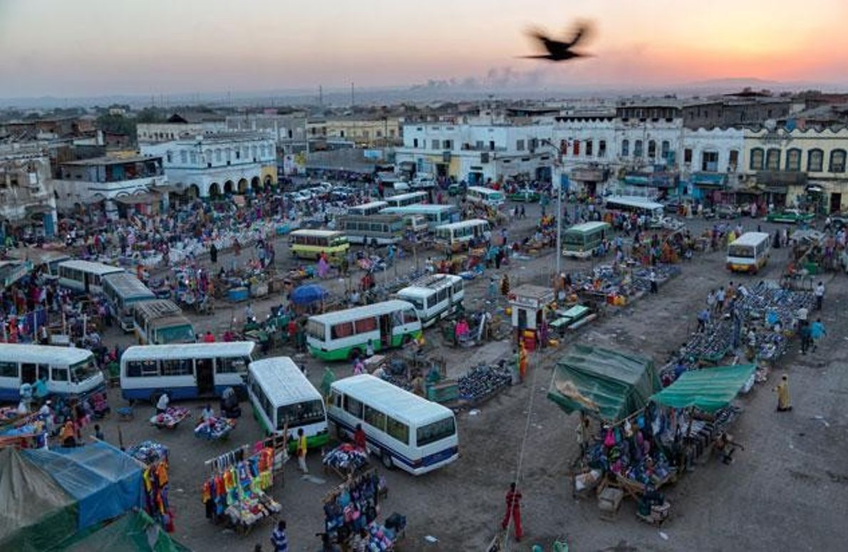 Markt in Dschibuti
