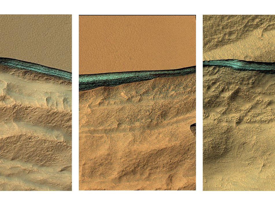 Galerie: Gewaltige Wasservorkommen auf dem Mars entdeckt