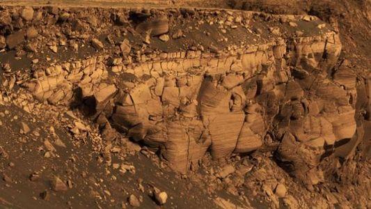 Besuch auf dem Mars