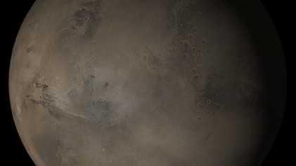 Marsgletscher könnten uralte Salzseen bedecken