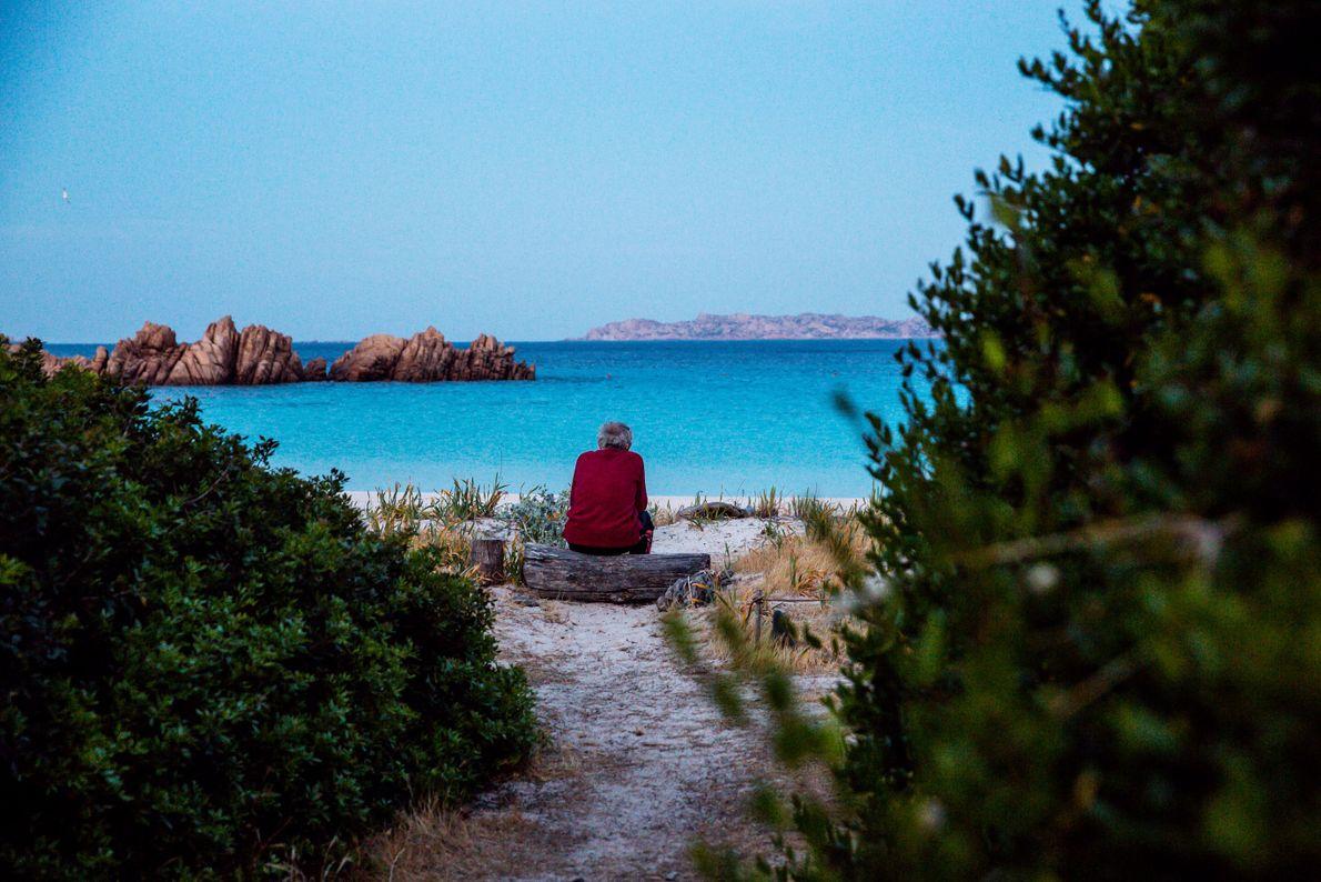 Morandi blickt aufs Meer