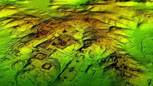 Exklusiv: Laserscans offenbaren riesige Metropolregion der Maya im Dschungel von Guatemala