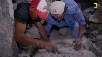 Grabungsarbeiten in Maya-Stätte sorgen für Aufregung