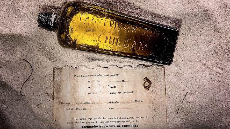 132 Jahre alte deutsche Flaschenpost in Australien gefunden
