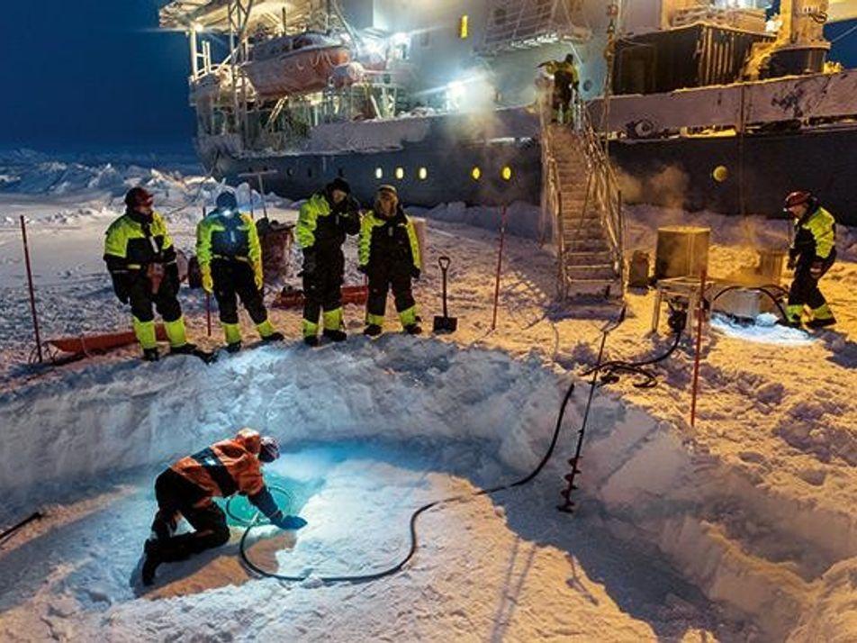 Galerie: Arktis - Die Decke wird dünner