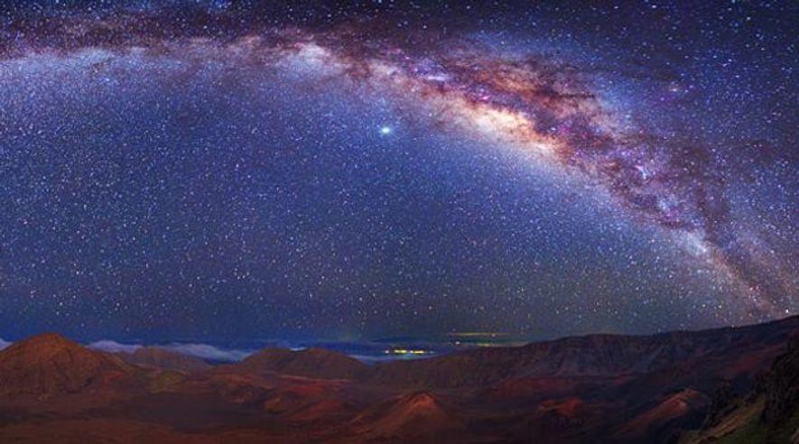 Die Milchstraße - süchtig nach neuen Sternen