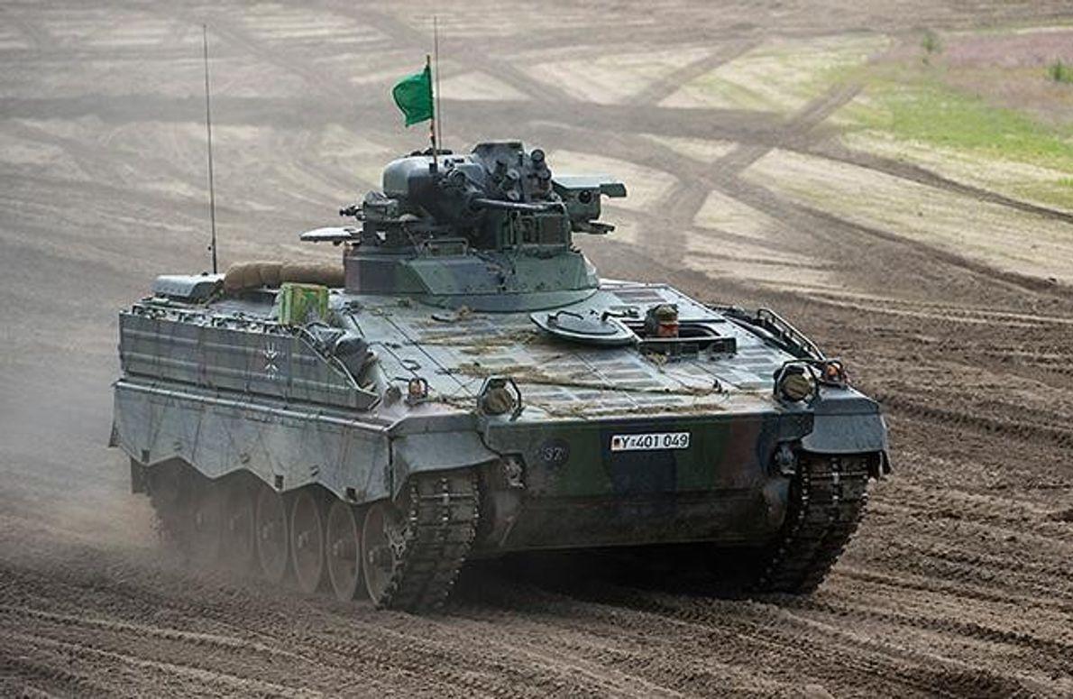 Militärische Sperrgebiete spielen bei der Rückkehr der Wölfe eine wichtige Rolle. Obwohl viele dieser Flächen bis …