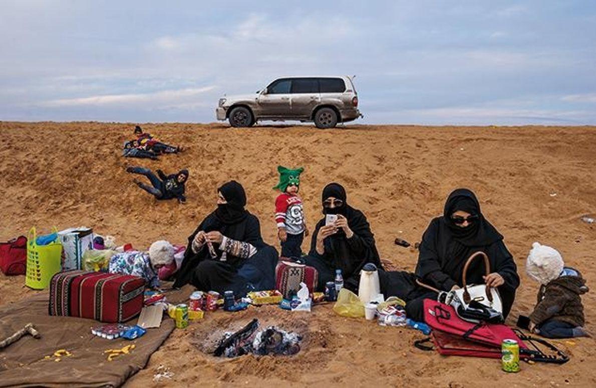 Mit dem Handy in die Wüste