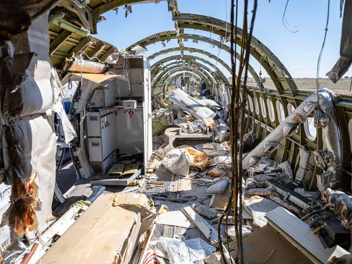 Kreislaufwirtschaft Fluggeräte als Ersatzteillager