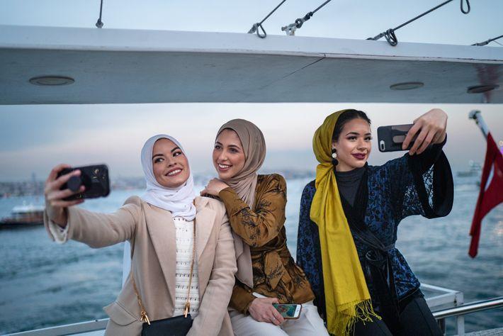 Modebloggerinnen Modest Fashion Week Istanbul