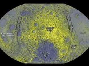 Schrundiges Profil: Die Auswertung von drei Milliarden Höhenmessungen ergab, dass die Oberfläche des Mondes noch viel ...