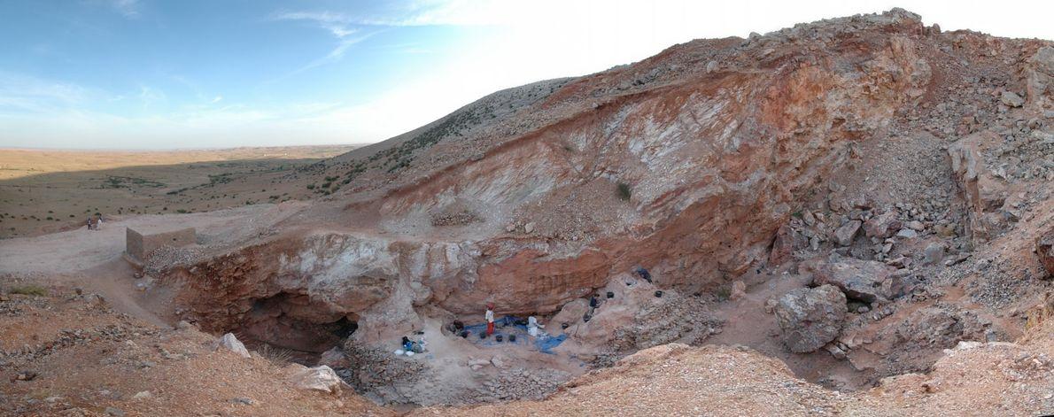 Ausgrabungsstätte Djebel Irhoud