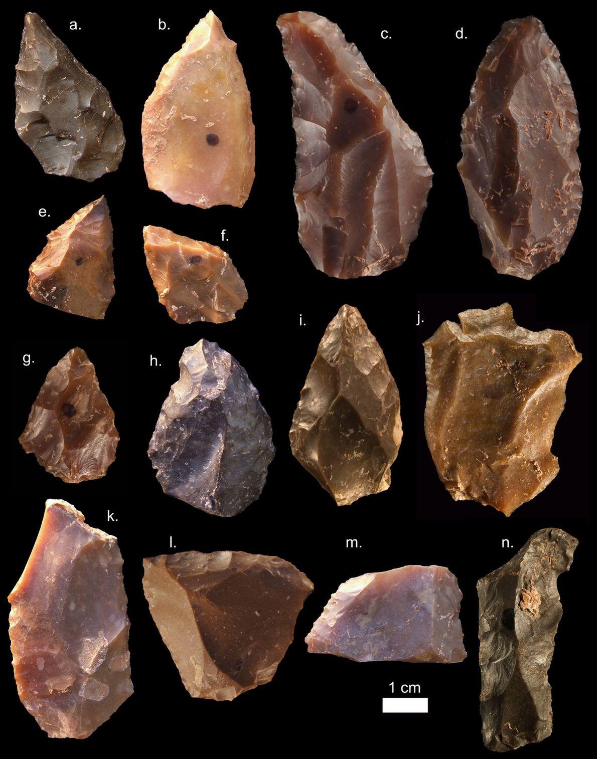 Werkzeuge aus der Mittelsteinzeit