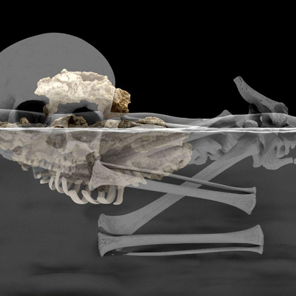 Kindergrab ist Afrikas ältestes menschliches Begräbnis