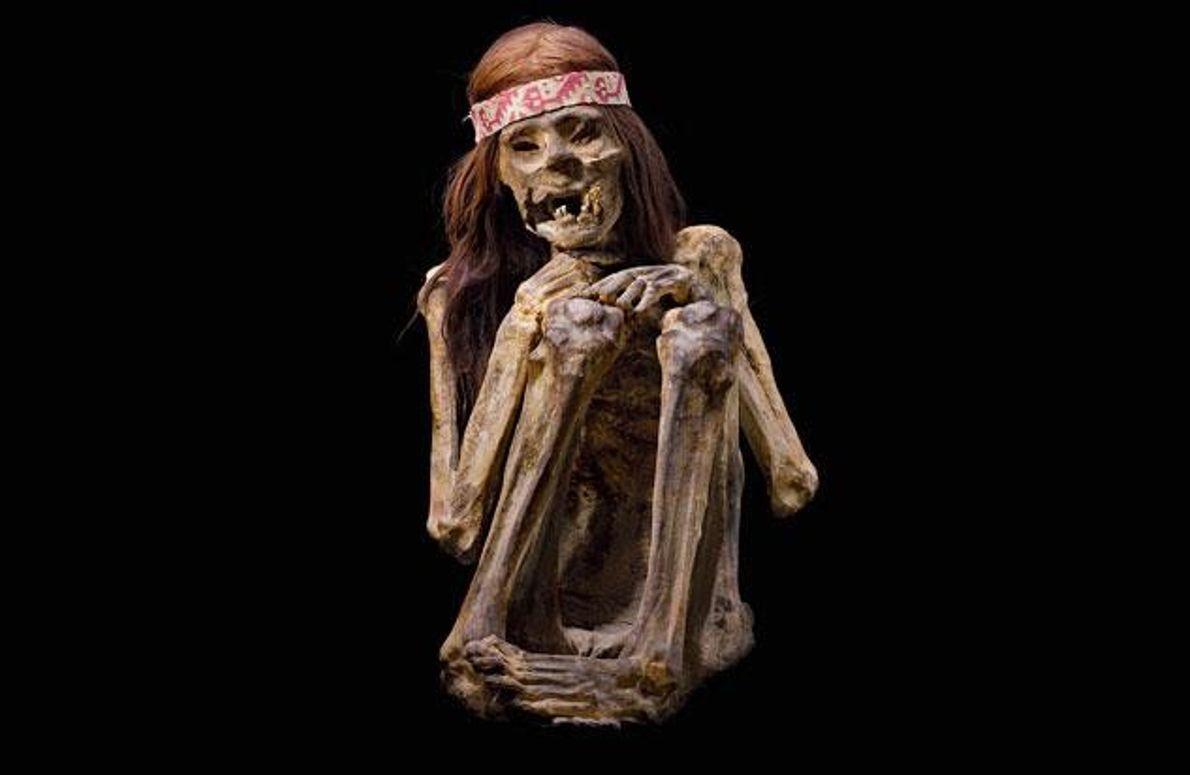 Mumifizierte Leiche