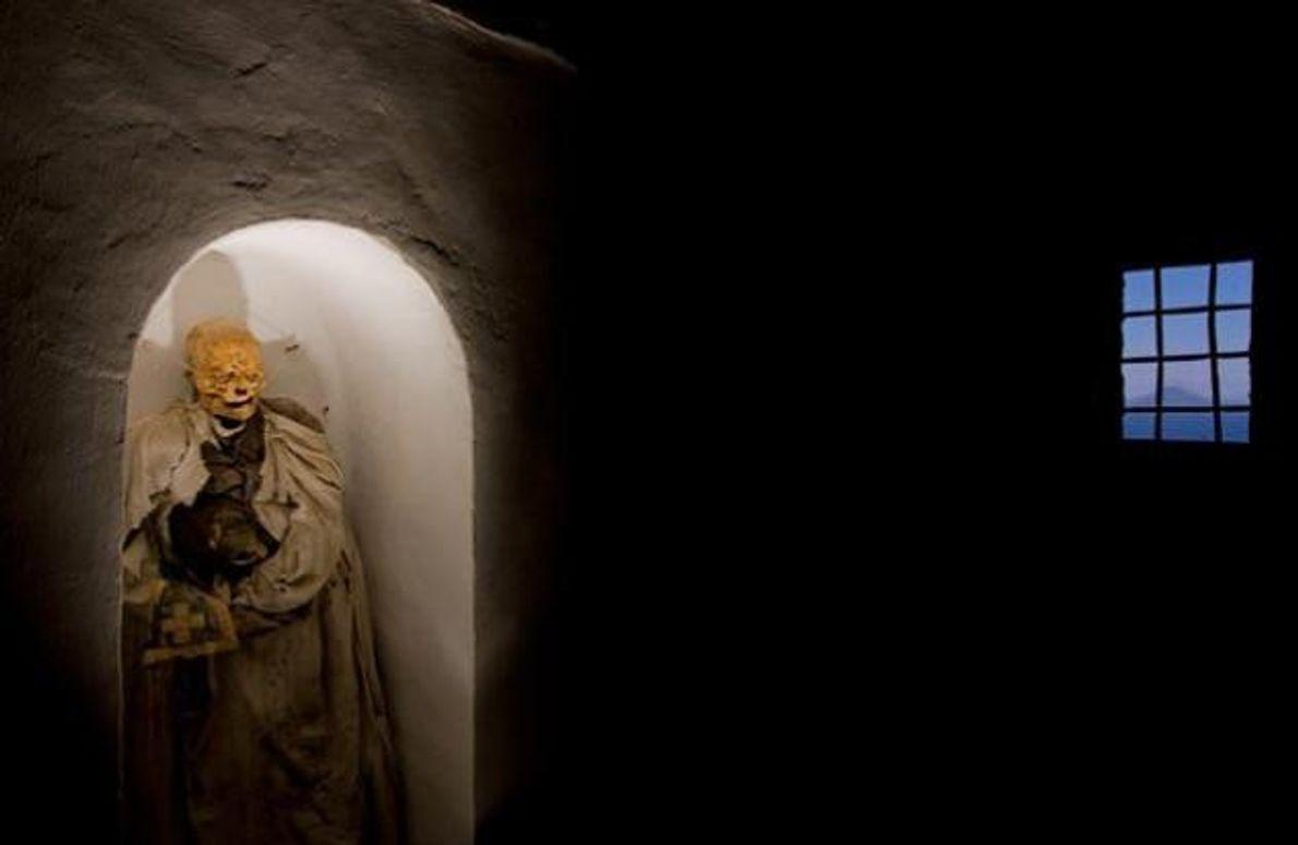 Mumifizierte Leiche in Piraino