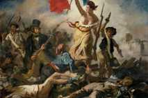 """""""Die Freiheit führt das Volk"""" von Eugene Delacroix"""