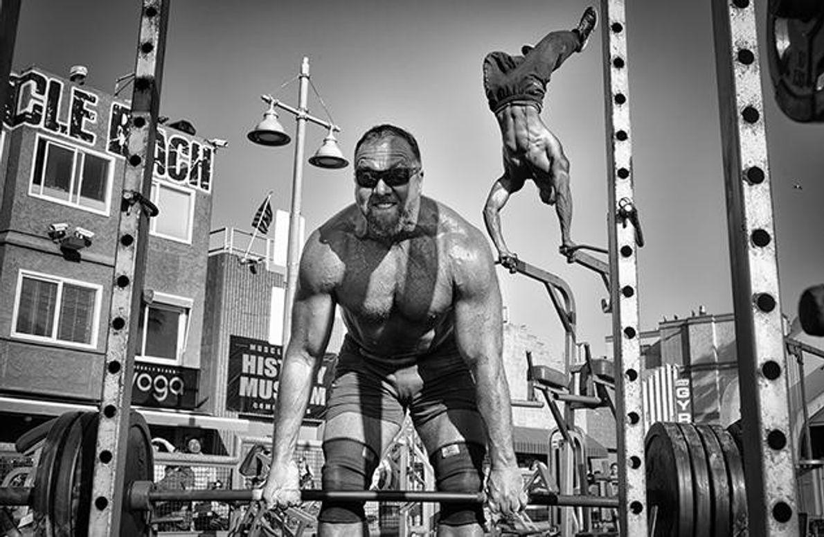 """Muscle Beach Gym"""