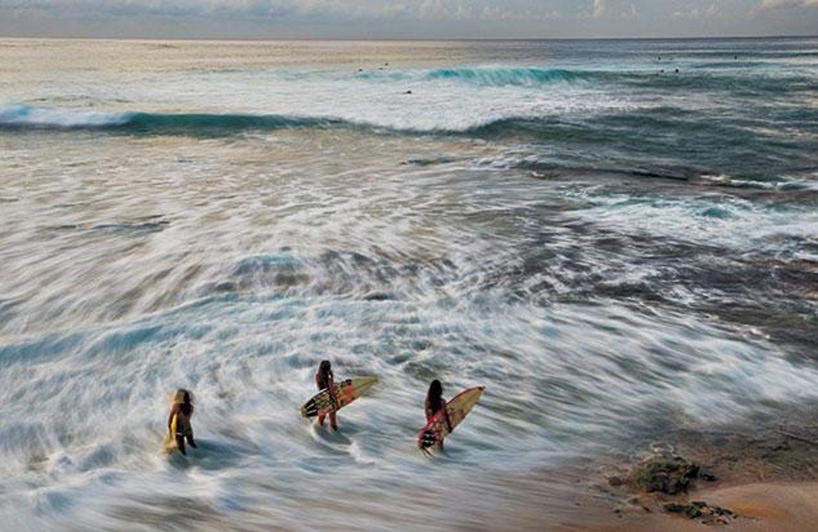 Neuer Tag, neues Surfglück