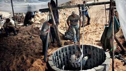 Galerie: Die Tunnel von Gaza
