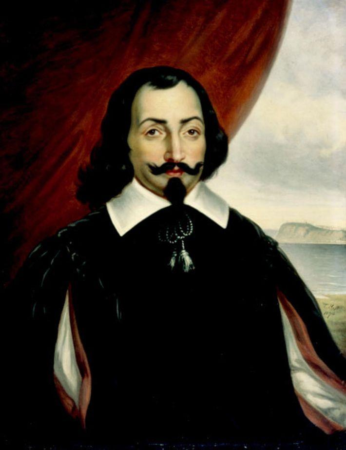 Samuel de Champlain gründete die Stadt Québec in der Kolonie Kanada.