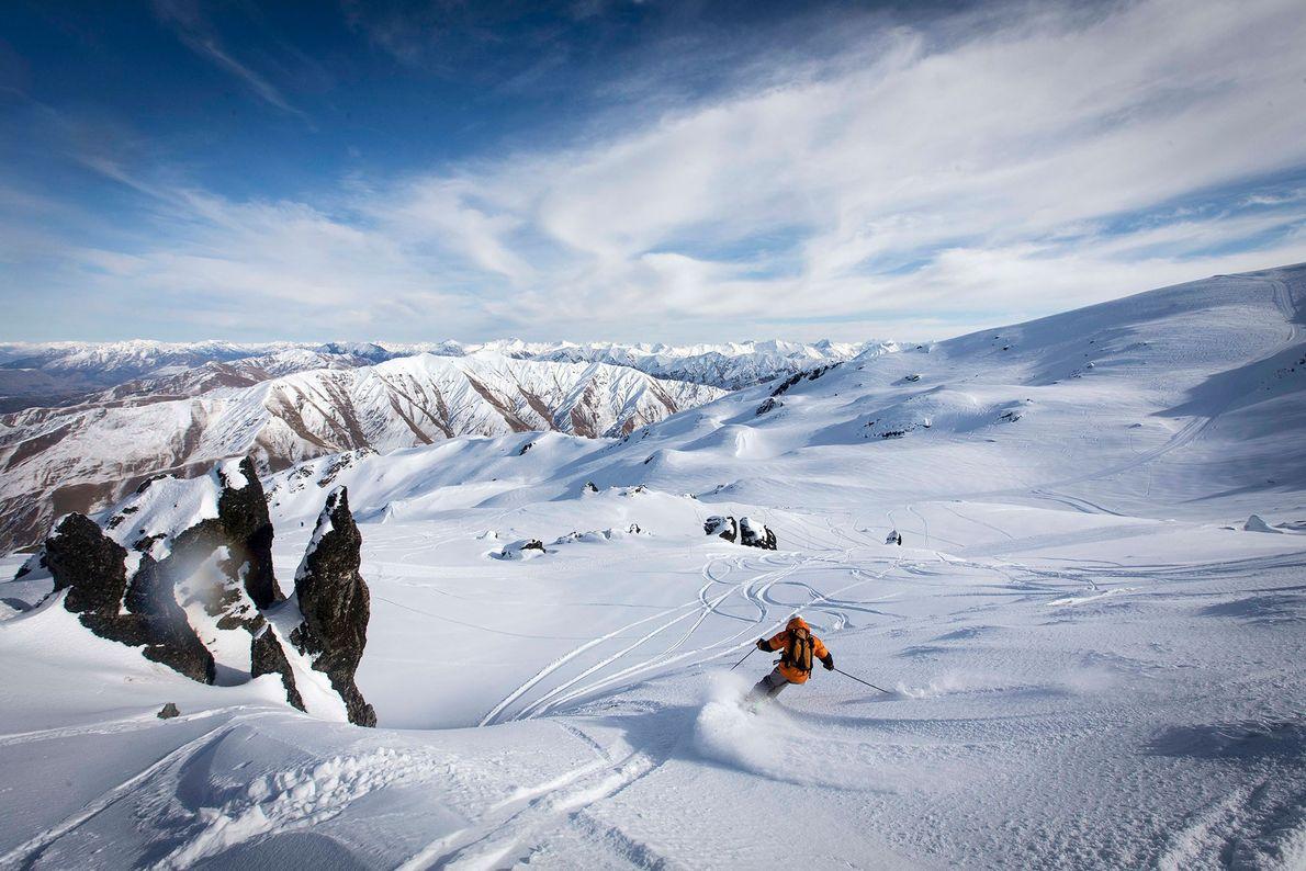 Im weiten Hinterland der Südlichen Alpen liegt der Skiort Soho Basin. Durch täglich begrenzte Besucherzahlen wird ...