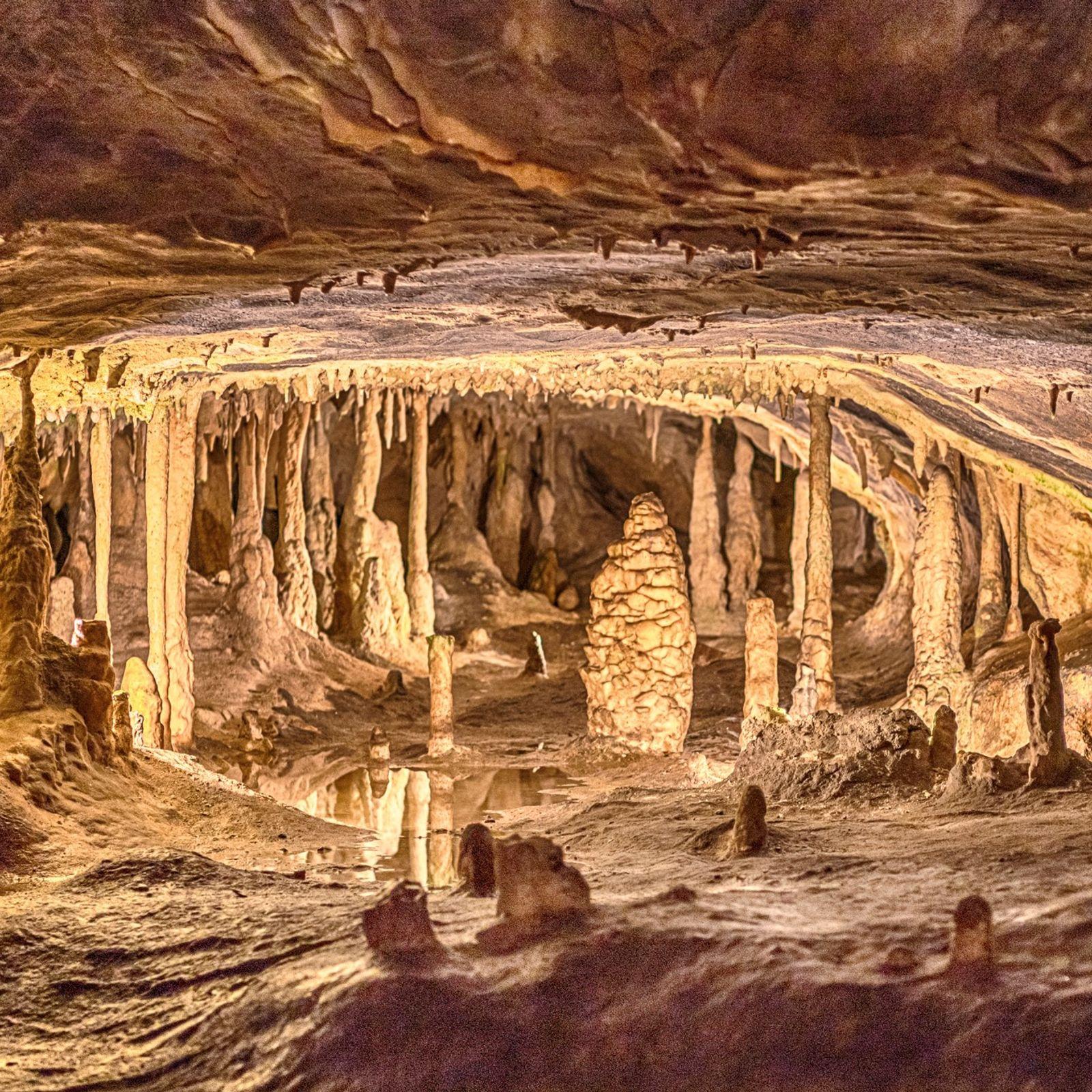 Tropfsteinhöhlen Hermannshöhle