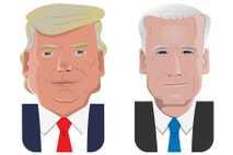 Trump oder Biden? Das entscheidet sich voraussichtlich am 3. November 2020.