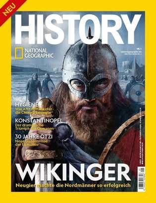 National Geographic History Nr. 1/2021 - ab 18. Juni im Handel!