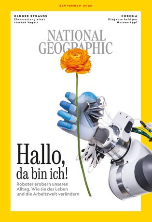 NATIONAL GEOGRAPHIC Magazin, September 2020