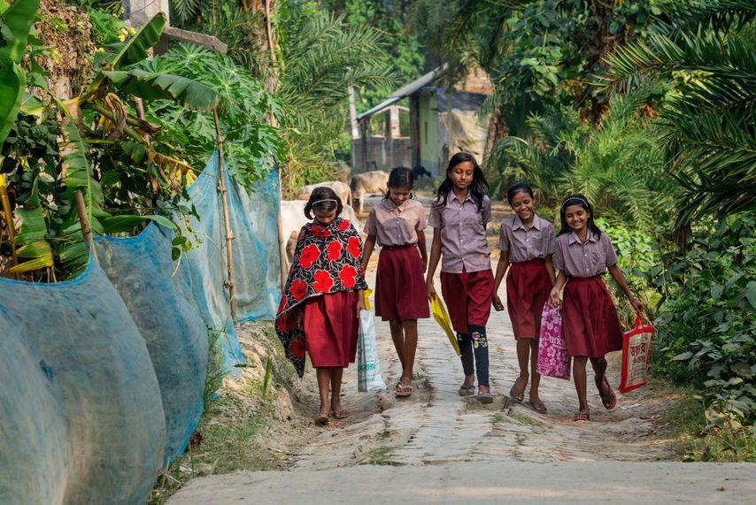 National Geographic Kinderhandel Indien