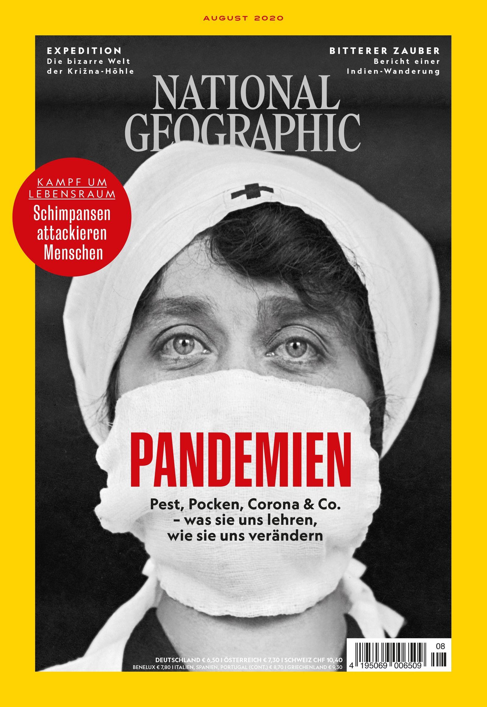 National Geographic-Magazin August 2020, Titelthema: Pandemien