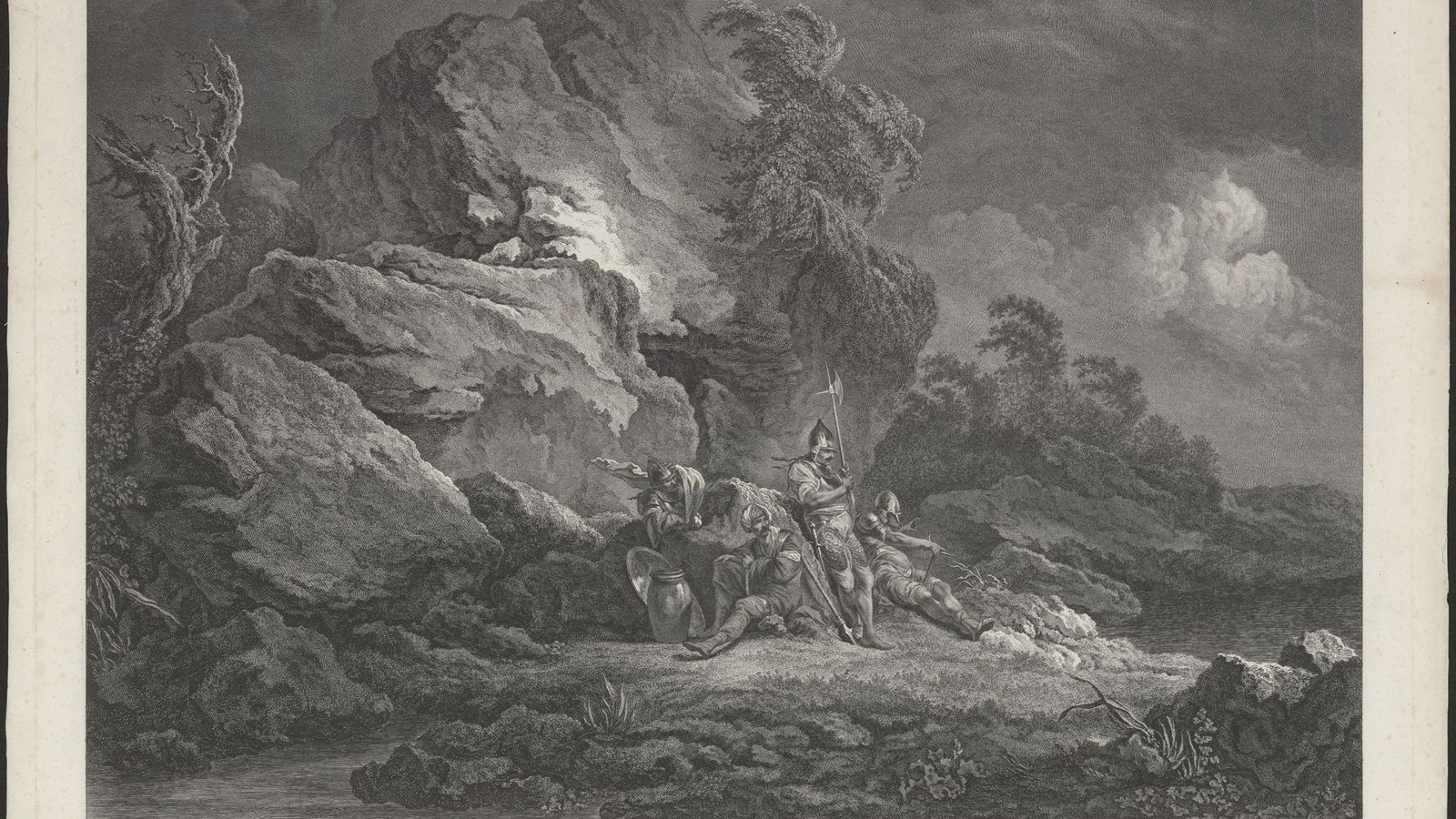 Druck aus dem Jahr 1778