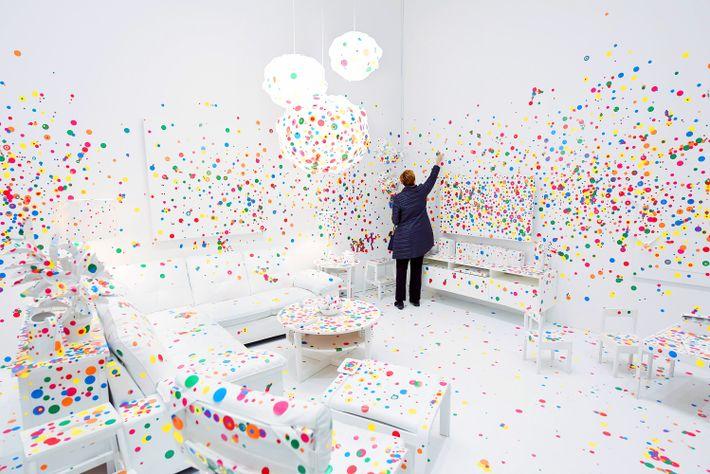 Yayoi Kusamas Infinity Rooms