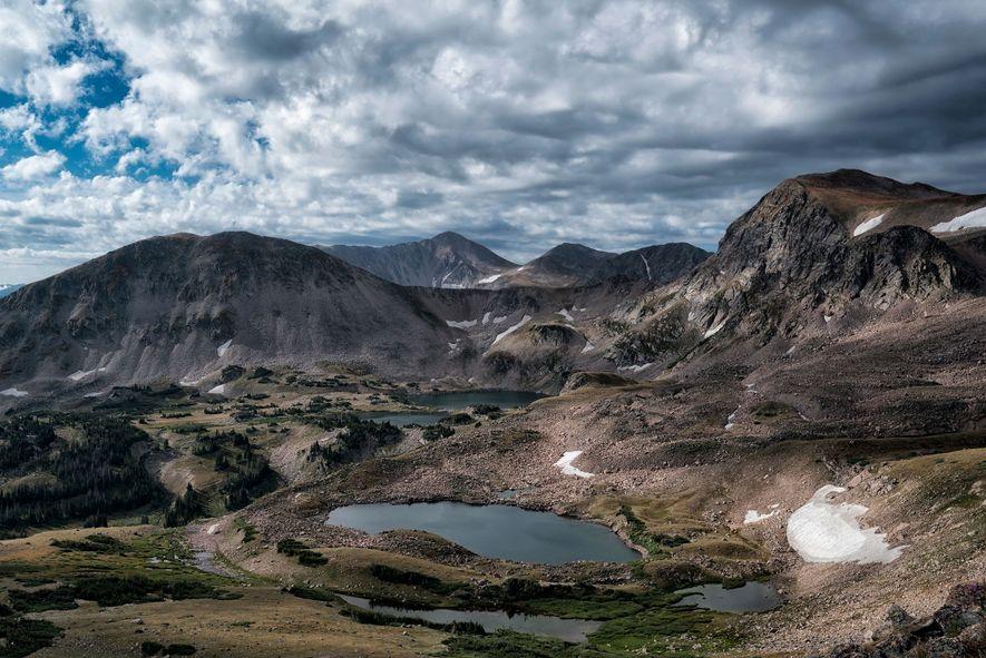Die Rawah Wilderness in Colorado wird vom Nationalen Forstdienst betrieben und bietet Besuchern großartige Berglandschaften und ...