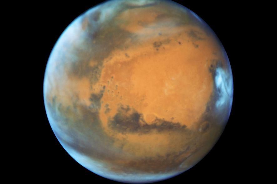 Die Menschheit überlebt nur, wenn sie den Mars kolonisiert
