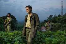 Emmanuel de Merode – flankiert von Leibwächtern im Hauptquartier von Virunga – hat den Nationalpark durch ...