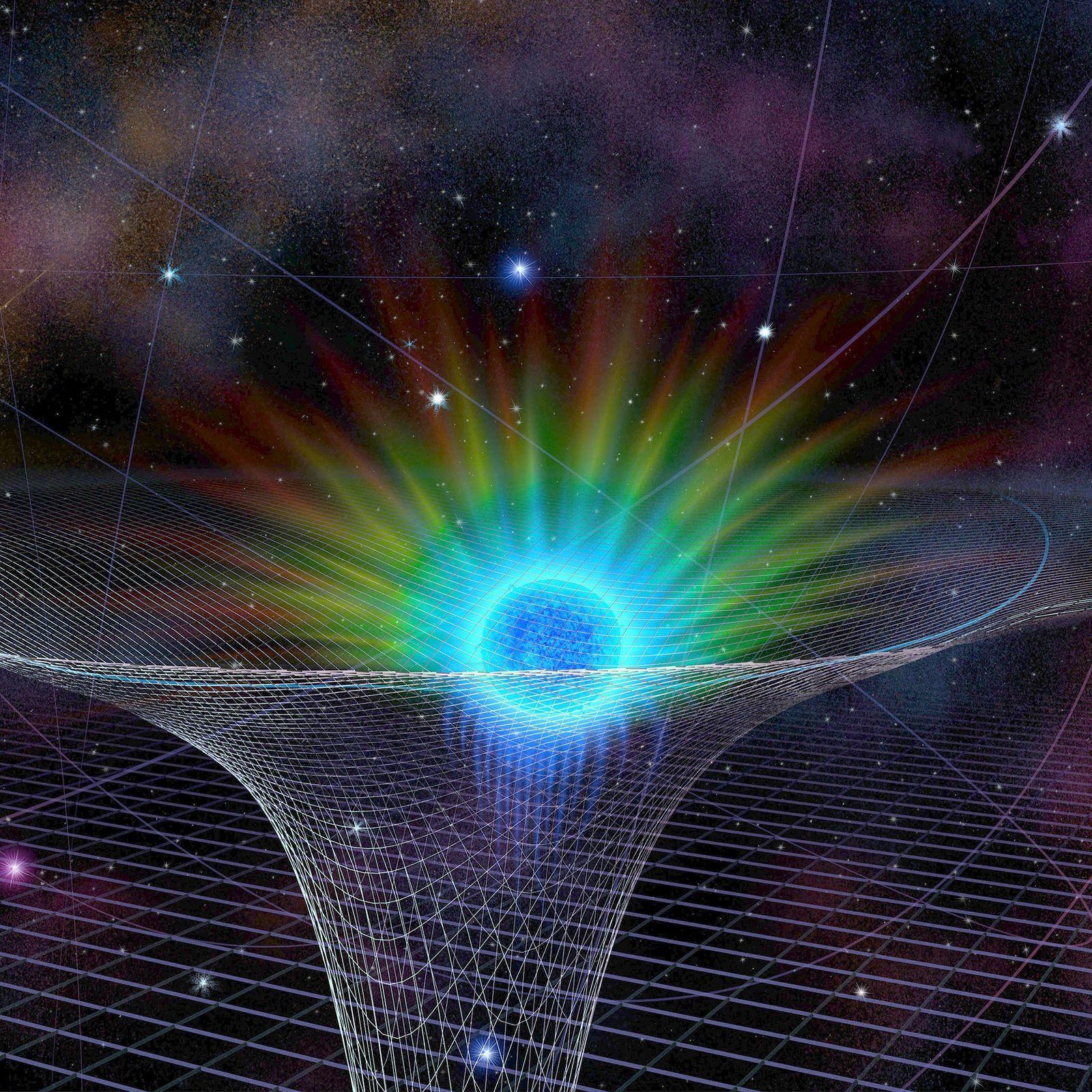 Drama am Schwarzen Loch: Einstein im Zentrum der Galaxie