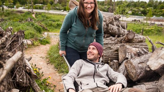 Stefanie Propp und Thomas Pickel