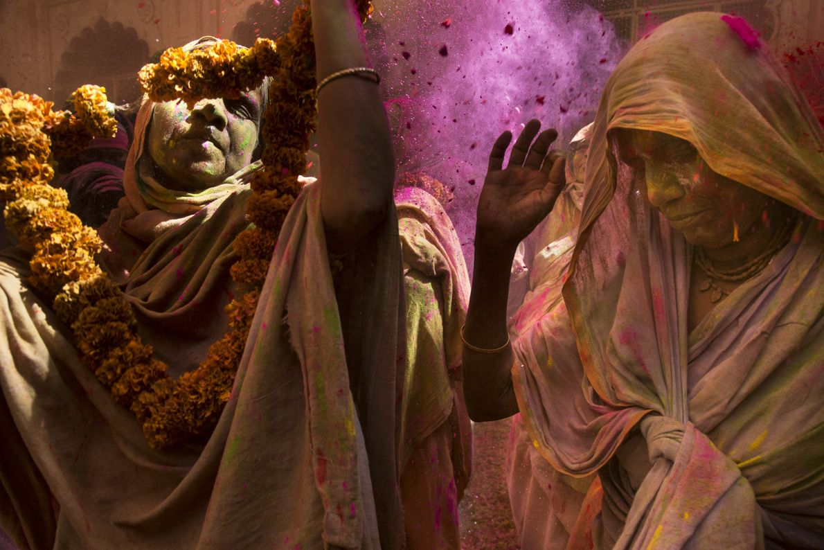 Holi-Zeremonie