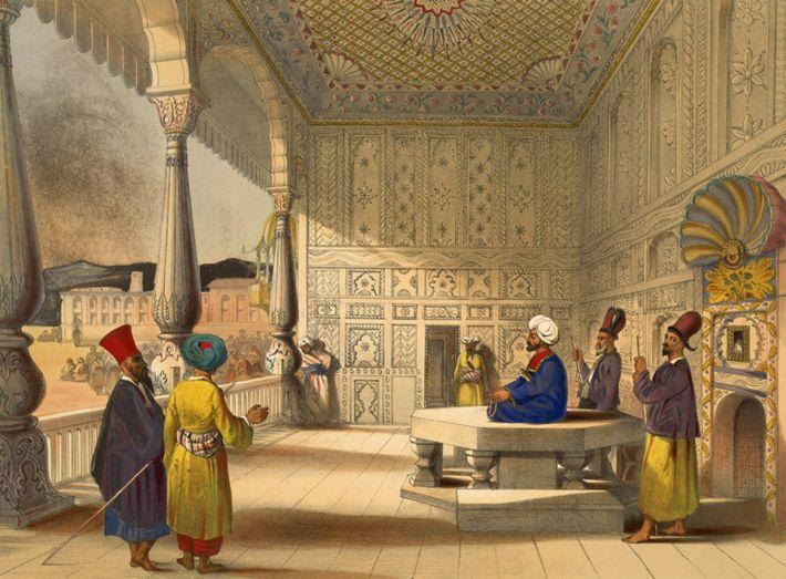 Im Jahr 1839 marschieren die Briten in Afghanistan ein und besetzen den Thron mit dem früheren ...