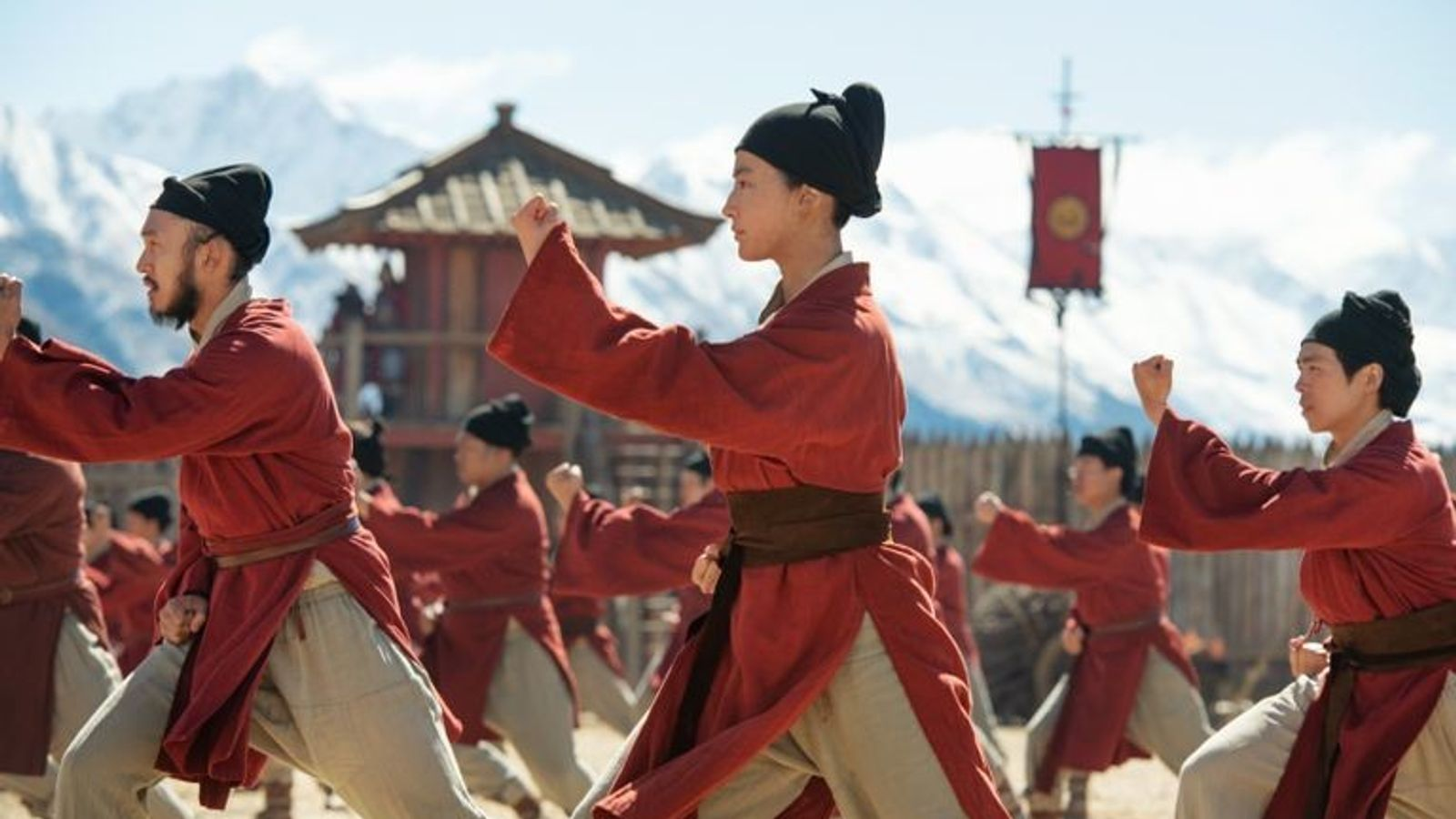 Liu Yifei als Hua Mulan