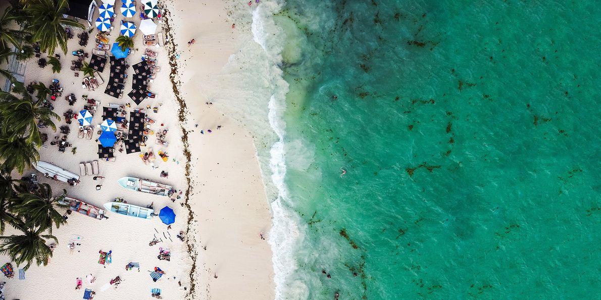 PLAYA DEL CARMEN, MEXIKO  Warum gerade hier? Die serviceorientierten Resorts direkt am Meer entlang der Riviera …